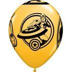Pack of 6 Marvel's Avengers Helium Quality Balloons