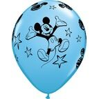Pack of 6 Mickey Mouse Assorted Helium Quality Balloons