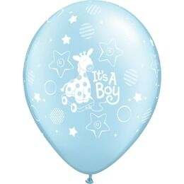 Pack of 6 It's a Boy Helium Quality Balloons