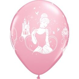 Pack of 6 Disney's Cinderella Helium Quality Balloons