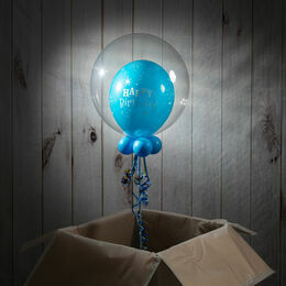 7th Birthday Personalised Bubble Balloon