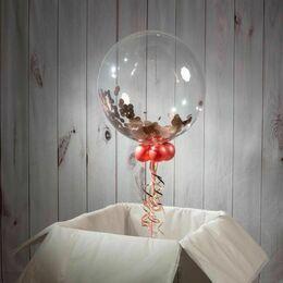 18th Birthday Personalised Confetti Bubble Balloon