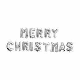 'Merry Christmas' Balloon Letter Banners (16
