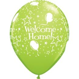 Pack of 6 Welcome Home Assorted Helium Quality Balloons