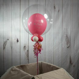Personalised 'Happy Mother's Day' Bubble Balloon