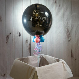Inflated 'Poppable' Surprise Gender Reveal Balloon