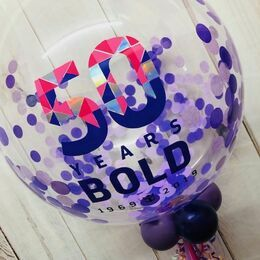 Branded Balloons with Promotional Insert