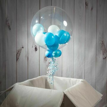2nd Birthday Personalised Multi Fill Bubble Balloon