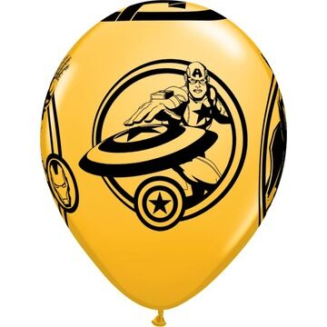 Pack of 6 Marvel's Avengers Helium Quality Balloons