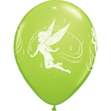 Pack of 6 Disney Tinkerbell Helium Quality Balloons