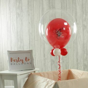 I Love You Personalised Bubble Balloon