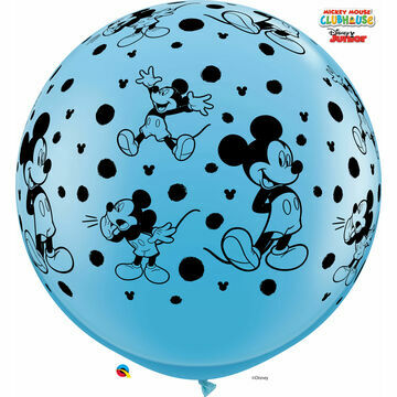 3ft Giant Assorted Red/Blue Mickey Mouse Helium Quality Balloon