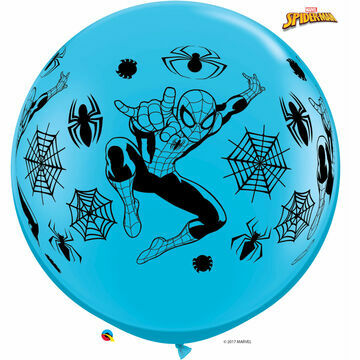 3ft Giant Assorted Spiderman Red/Blue Helium Quality Balloon