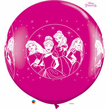 3ft Giant Assorted Disney Princesses Helium Quality Balloon
