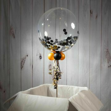 Personalised 'Prom' Confetti Bubble Balloon