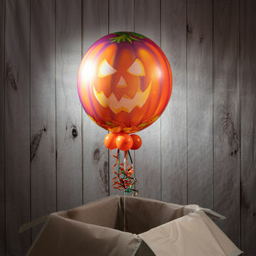 Halloween Pumpkin Bubble Balloon