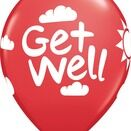 Pack of 6 Get Well Soon Assorted Helium Quality Balloons additional 4