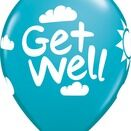 Pack of 6 Get Well Soon Assorted Helium Quality Balloons additional 6