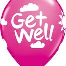 Pack of 6 Get Well Soon Assorted Helium Quality Balloons additional 7