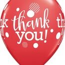 Pack of 6 Thank You Assorted Helium Quality Balloons additional 4