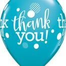 Pack of 6 Thank You Assorted Helium Quality Balloons additional 6
