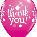 Pack of 6 Thank You Assorted Helium Quality Balloons additional 7