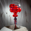 Personalised Spiderman Multi Fill Bubble Balloon additional 1
