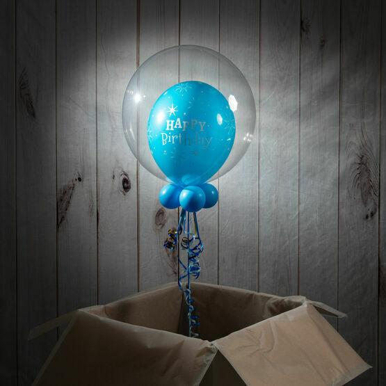 4th Birthday Personalised Bubble Balloon