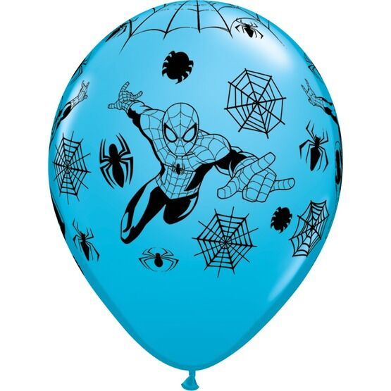 Pack of 6 Marvel's Spiderman Helium Quality Balloons