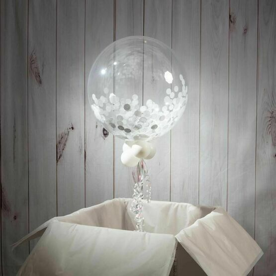 Holy Communion Personalised Confetti Bubble Balloon