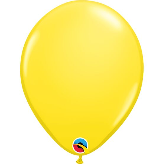 Pack of 12 Plain Coloured Helium Quality Balloons