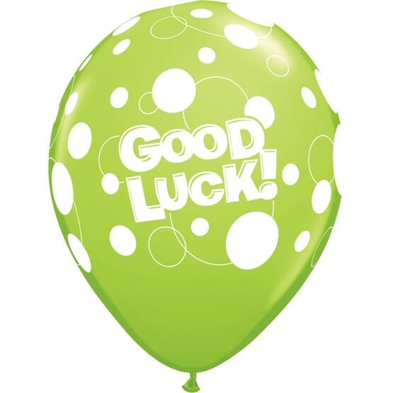 Pack of 6 Good Luck Assorted Helium Quality Balloons